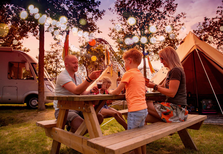 Übernachten im Toverland beim Pop-Up Camping