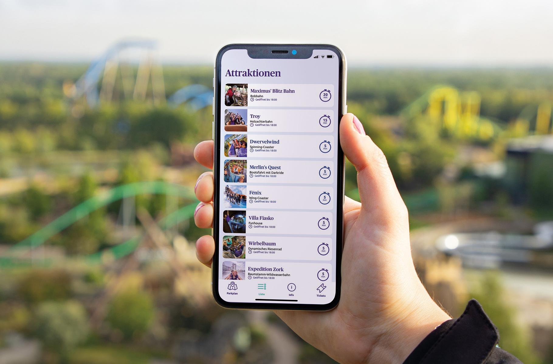 Freizeitpark Toverland veröffentlicht eigene App